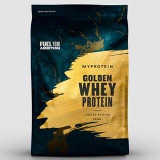 🚚 250g, MyProtein Golden Whey Protein (Asia Limited Edition), Whey Protein, Protein Powder