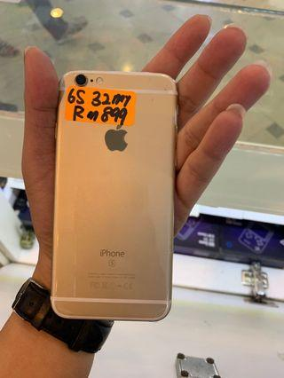 iPhone 6s 32 Malaysia set used