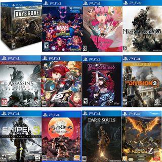 超低優惠 代客訂購【全新】SONY PS4 PRO SLIM 遊戲 市集 比市價行情更低 歡迎聊聊聯繫
