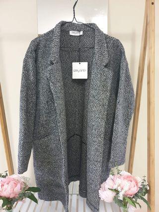 Thick winter coat with pockets • Ebby & I