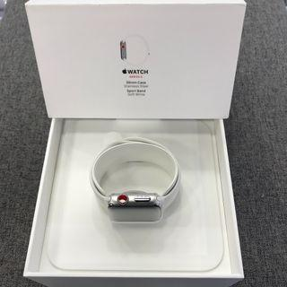Apple Watch Series 3 38mm LTE - Stainless Steel