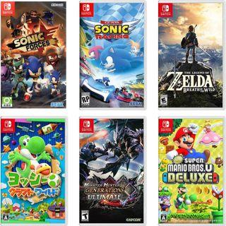 超低優惠 代客訂購【全新】任天堂 Nintendo Switch NS 遊戲 市集 比市價行情更低 歡迎聊聊聯繫