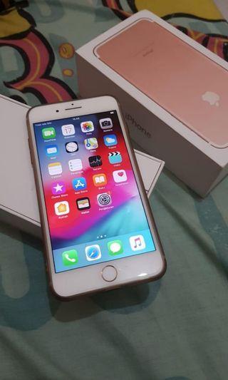 Iphone 7 Plus 32GB Rose gold fullset