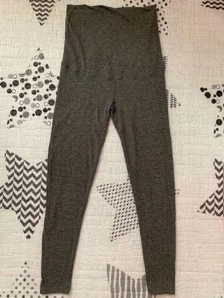 Uniqlo Maternity Leggings M Size 優衣庫 孕婦 打底褲 深灰色