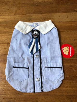 Dog sailor outfit/clothes/costume