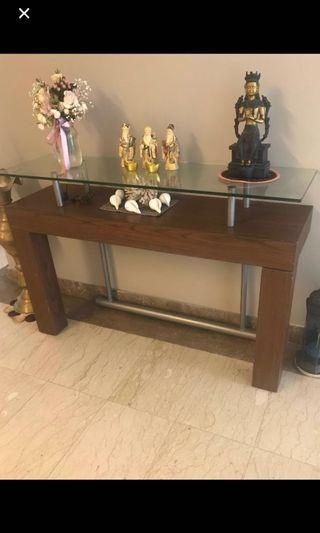 🚚 Walk in Console Table