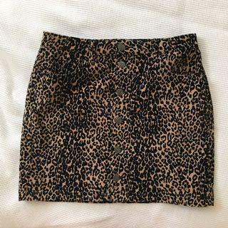 Glassons Animal Print Skirt