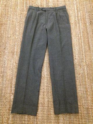 Vintage Japanese grey wool pant
