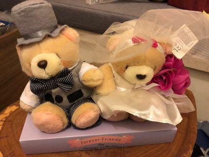 Forever Friends Wedding Bear