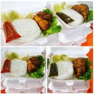 Pecel ayam sambel kane catering