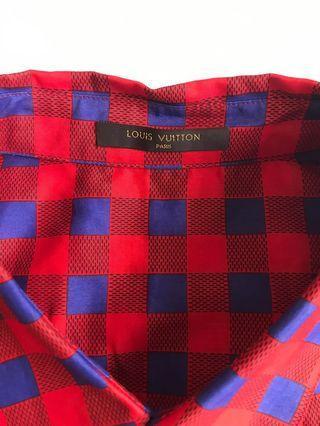 Louis Vuitton Kim Jones 1st collection runway shirt