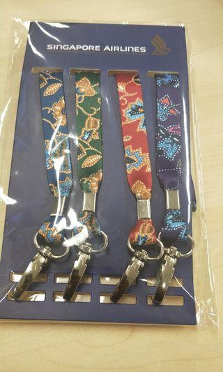 Singapore Airlines Batik Design Lanyard