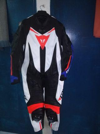 Motorbike Leather Racing Suit for Rider