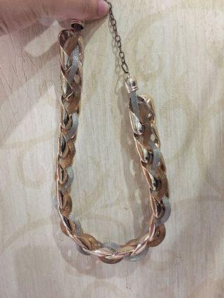 Gold Chain Necklace H&M (kalung)