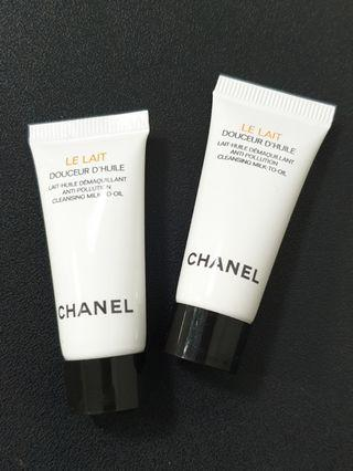 Chanel Cleansing Milk to Oil 5ml! Makeup remover