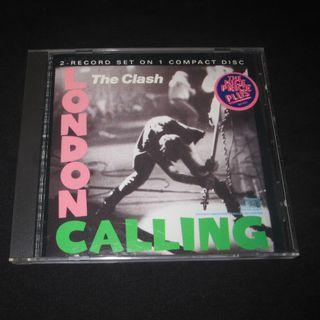 #CD The Clash. London Calling. IMPORTED CD EU