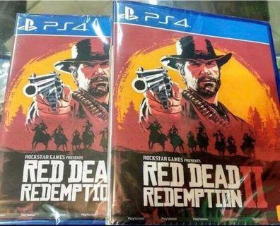 Red Dead Redemption 2 brand new & sealed