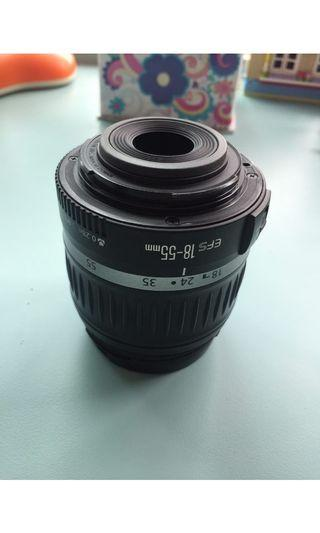 Canon EFS 18-55mm lens (good condition)