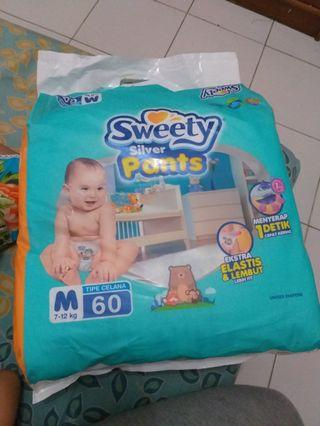 Diapers sweety Silver