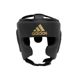 Adidas Black & Gold Training Headguard