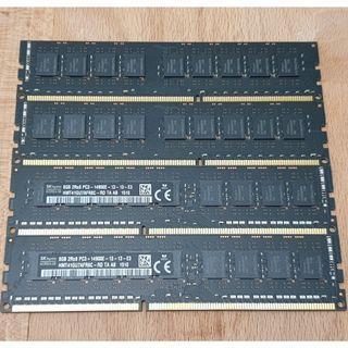 High Performance 32GB (4x8GB) DDR3 Ram for Sale (RM200 per piece)