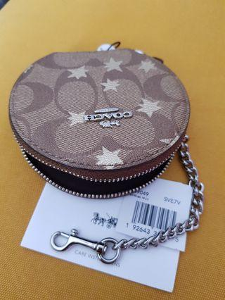 BN Coach Round Coin Purse