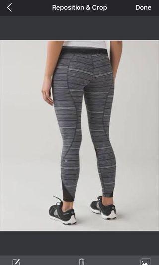 Lululemon leggings size 2 (aus 6)