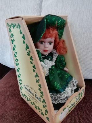 Irish Traditional Porcelain Doll