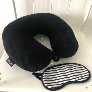Limited edition Sephora Travel Neck Pillow & eye mask