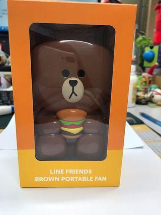 Line friends 風扇