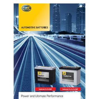 HELLA CAR BATTERY START-STOP AGM BATTERY & EFB SERIES, Auxiliary Battery VR200