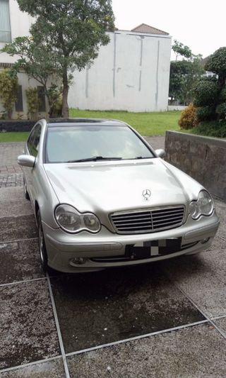 Mercedes C270 2002 Diesel Turbo tangan 1 Barang Antik Dijual krn BU