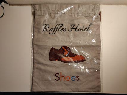 [BN] Raffles Hotel Drawstring Shoe Bag