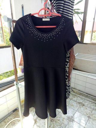 Padini Studded Black Dress