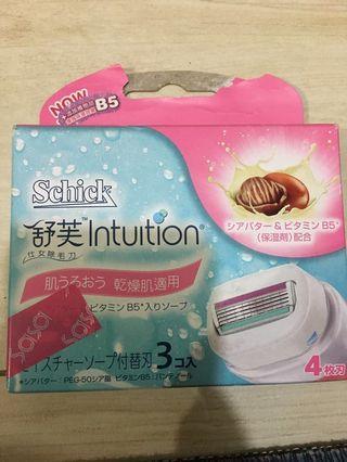 Schick Intuition shaving head