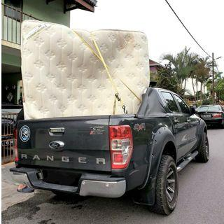 4x4 hilux delivery, transporter & movers