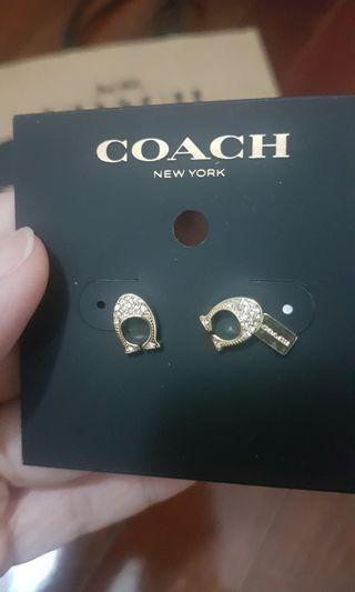 Coach signature C Earrings #GayaRaya