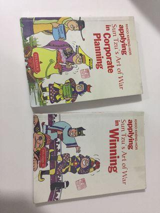 Applying Sun Tzu's Art of war in corporate planning and in winning (2 books)