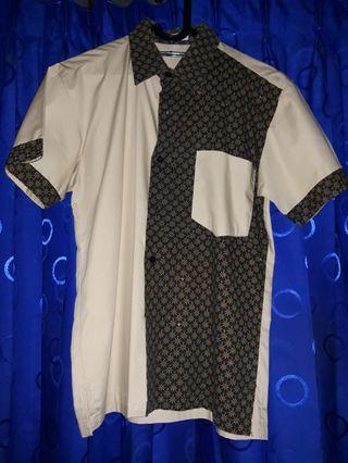 #BAPAU Kemeja Batik Pria Lengan Pendek