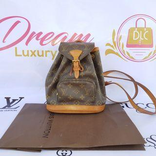 Authentic Louis Vuitton Montsouris Backpack Monogram