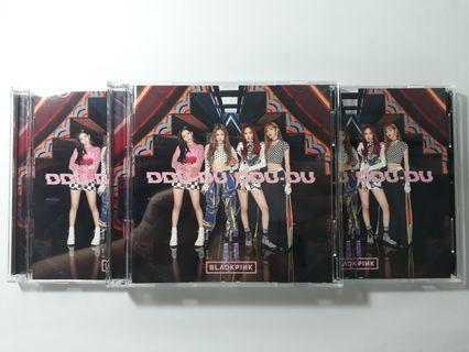 WTS BLACKPINK DDU DU DDU DU CD + DVD JAPANESE UNSEALED ALBUMS