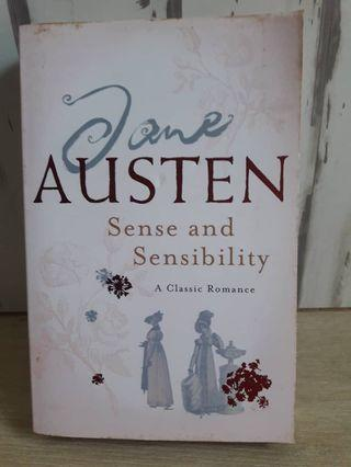 English Novel- sense and sensibility by Jane Austin