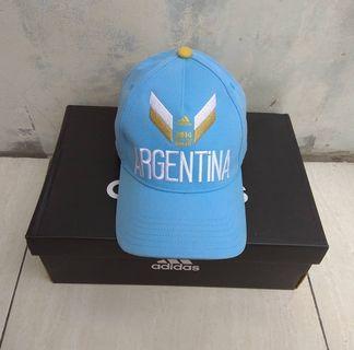Topi Adidas Edisi Argentina