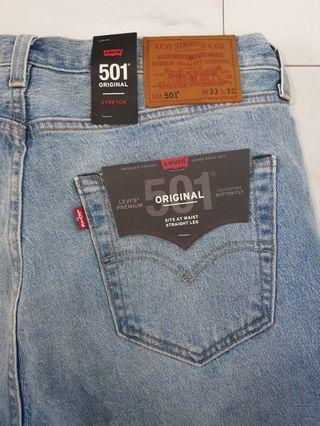 New Authentic Premium Edition Levi's 501 Jeans