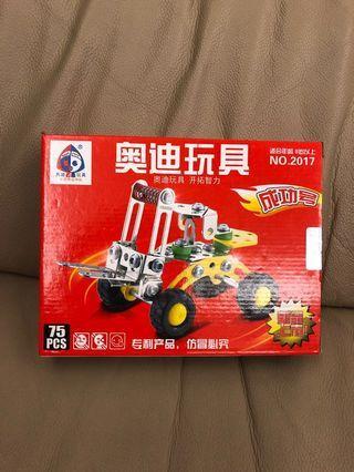 全新 智力玩具車車 🚗 組裝模型玩具 成功號 適合8歲以上孩子玩