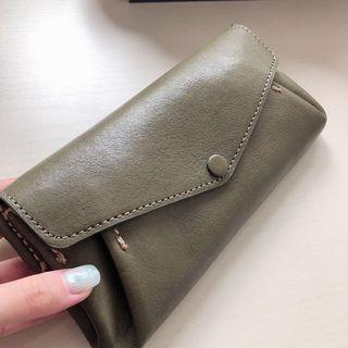 Green Wallet/ Pouch