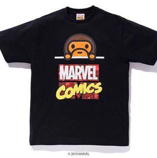 Bape x Marvel - BNWT - Size M