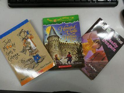3本英文故事書
