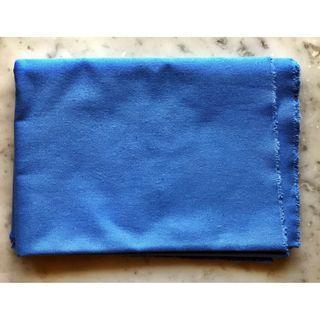 Cotton Woven Canvas Fabric Cloth - Blue colour