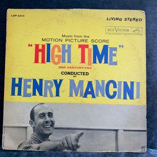 Henry Mancini – Music From The Motion Picture Score High Time